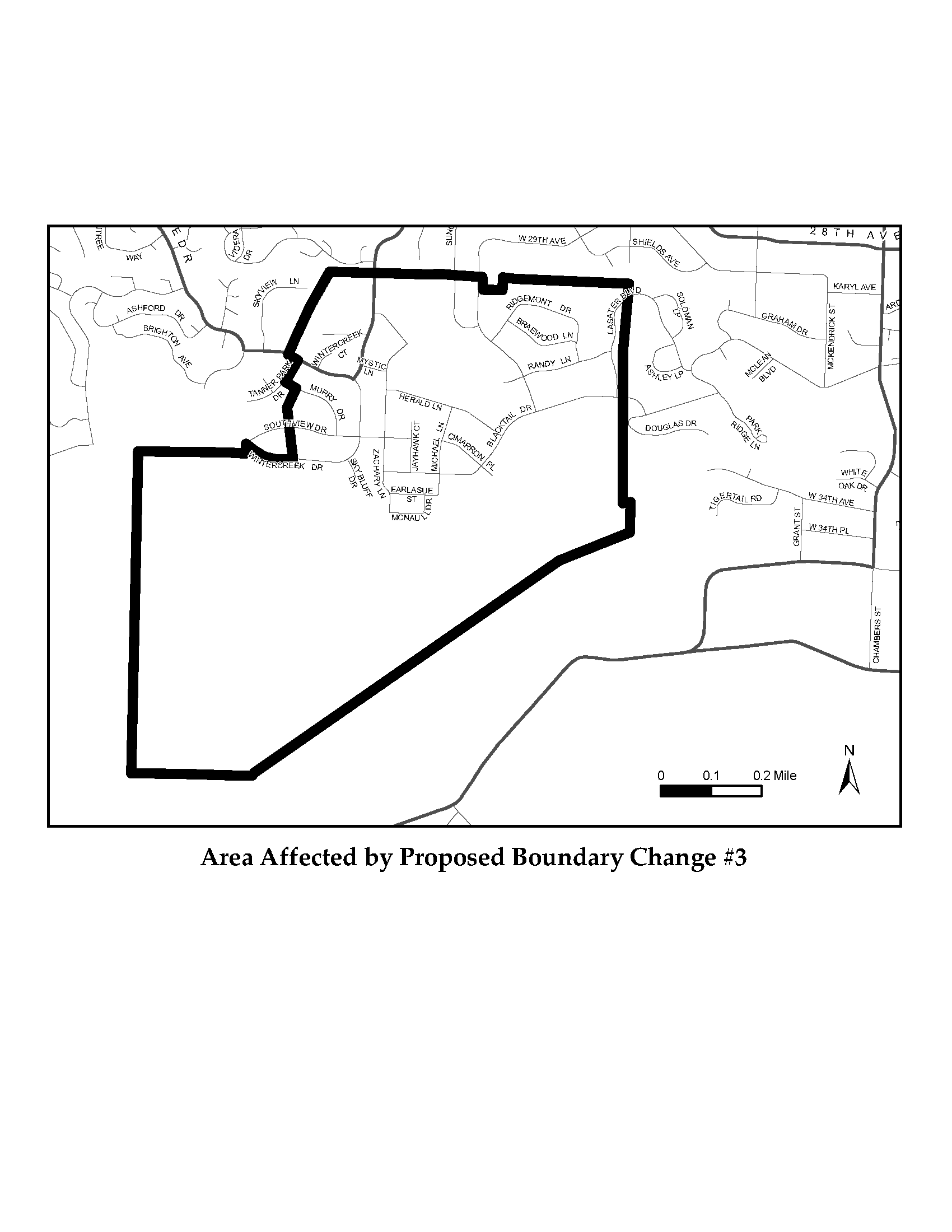 Questions Raised During The Process Led To A Slight Change In Proposed Boundary Neighborhood Residents Suggested Altering Affected Area So That All