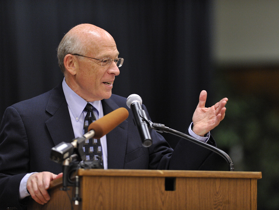 Image of Dr. Berman speaking at an earlier event