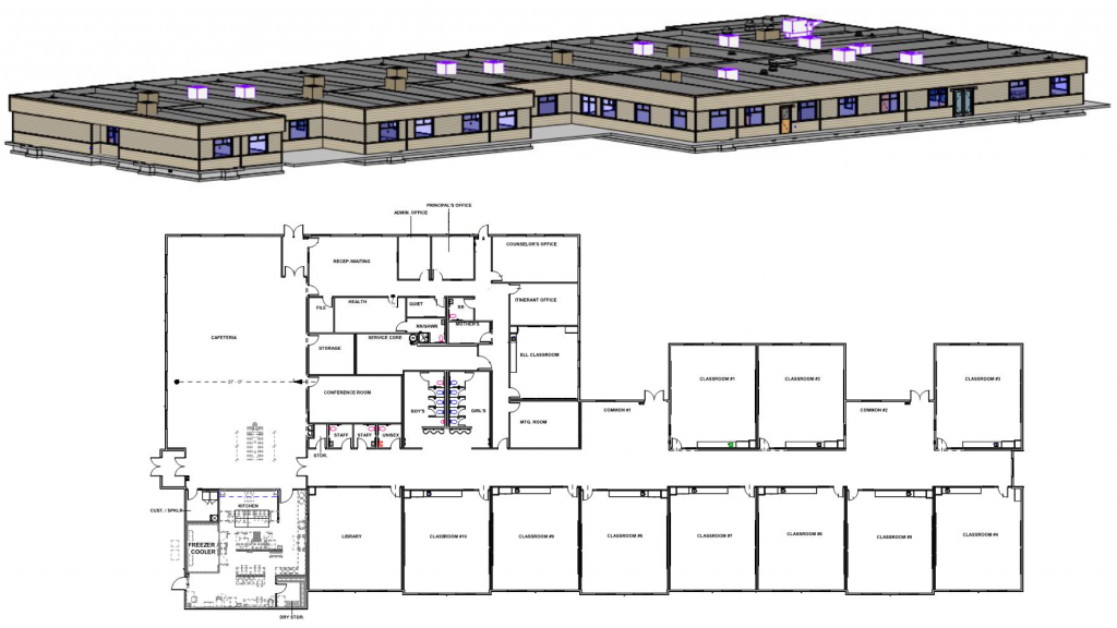 Image of Willard swing school floor plan